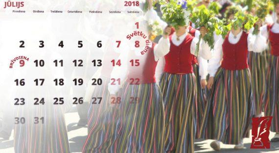 2018. gada 8. un 9. jūlijs - alga, atvaļinājuma dienas