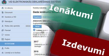 Kā iesniegt gada ienākumu deklarāciju